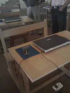 સ્કૂલની લેબમાં લેપટોપ!